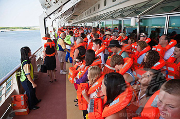 Crowd Management onboard ship
