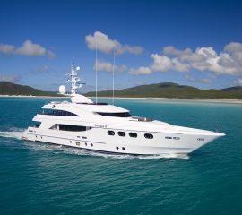 australian superyachts - charter yacht - my de lisle iii australia, superyacht for charter main