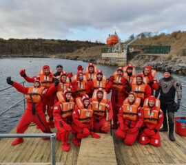 STCW95 Basic Safety Training Personal Survival Techniques Course